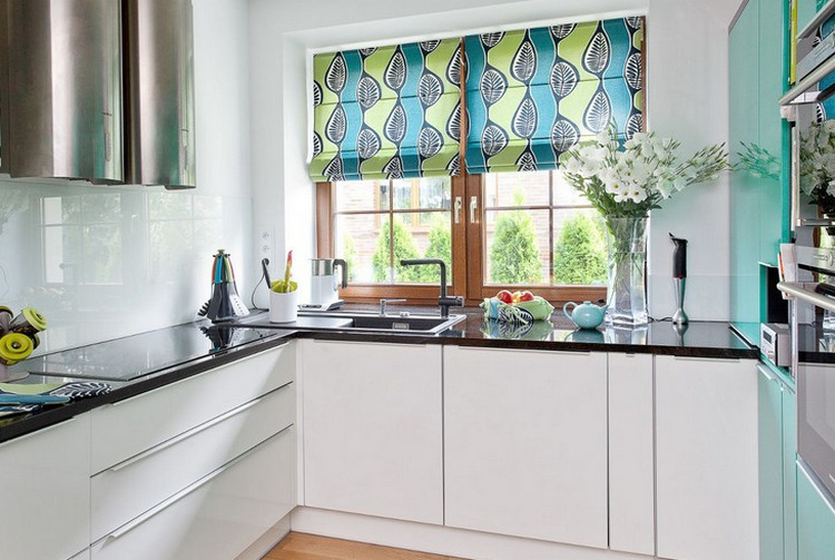 Шторы на кухню - 120 фото новых идеи для интерьера