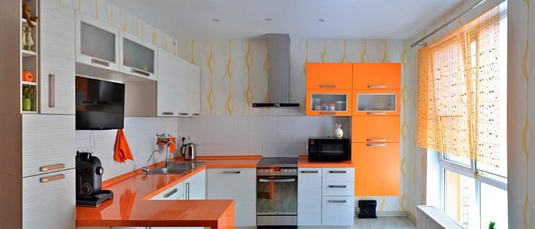 Дизайн угловых кухонь фото 2019