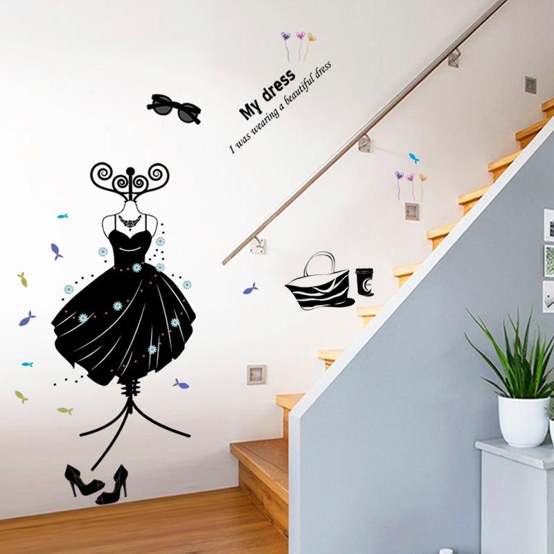 Оформление прихожей и стен коридора: граффити и не только!