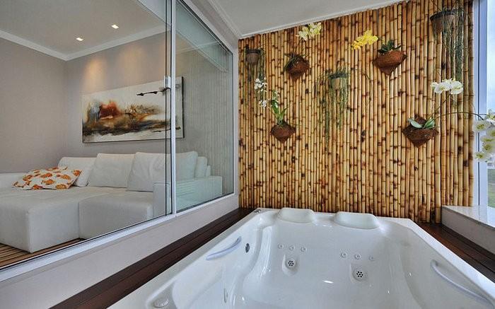 Интерьер с бамбуком - экзотика у вас дома! Фото