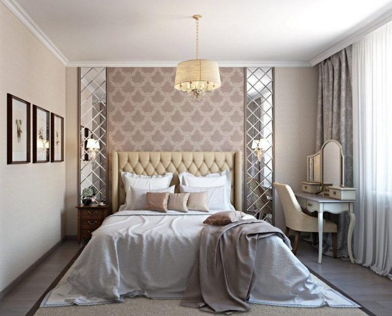 Длинная спальня: идеи дизайна узкой комнаты. Фото