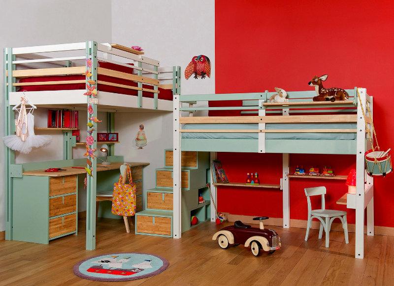 Кровать-чердак: детская с игровой зоной и не только!