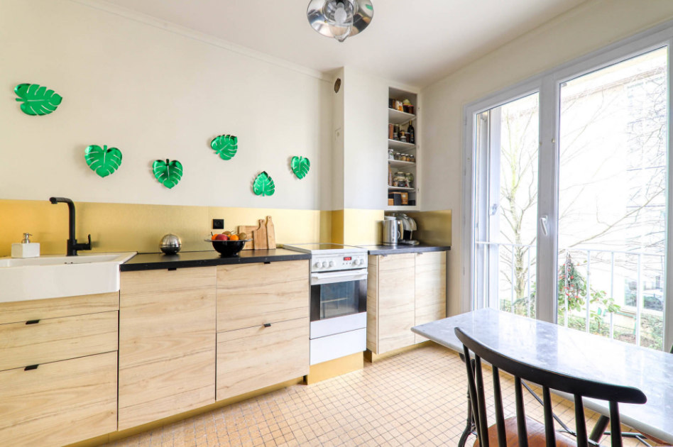 Яркая квартира в эклектическом стиле во Франции