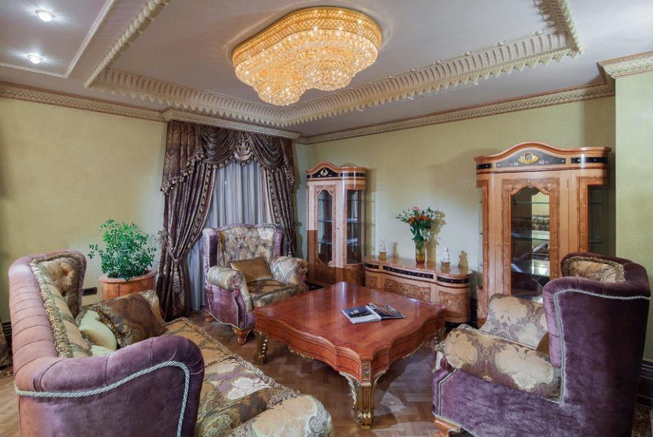 """Фото роскошной квартиры в ЖК """"Золотые ключи - 2"""""""