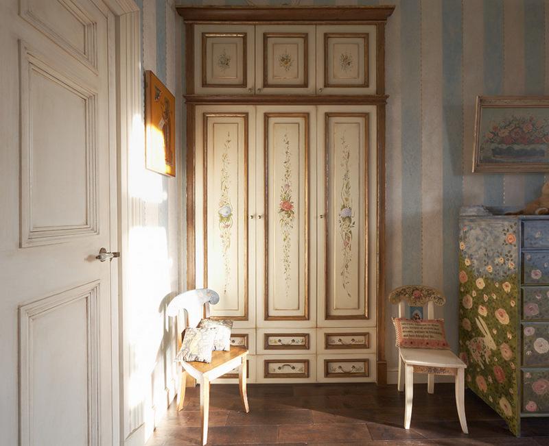 Благородный дворянский стиль в детской комнате