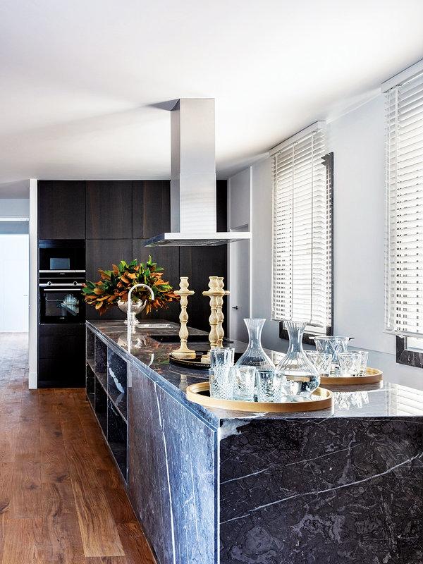 Чистая элегантность с идеальными цветами в дизайне квартиры в Мадриде