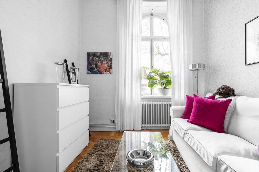 Квартира в Стокгольме с дворцовыми мотивами в доме 1888 года.