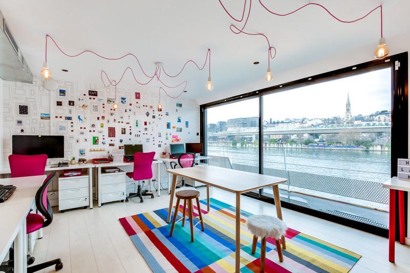 Интерьер рекламного агенства в Париже