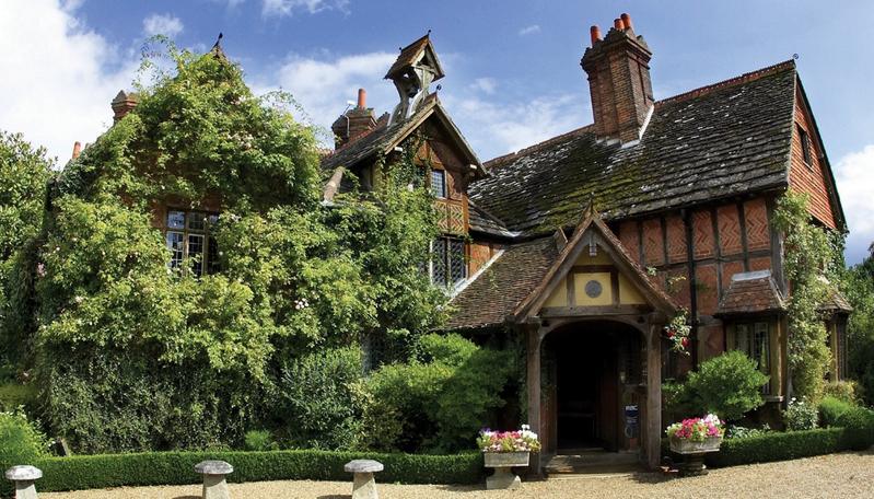Элегантный отель 1500 года постройки в Англии