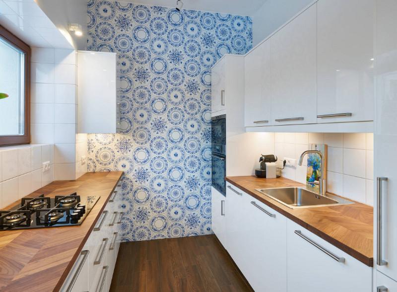 Ламинат для кухни - какой выбрать? Реальные фото в интерьере