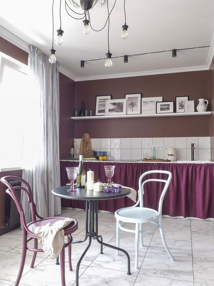 Яркая квартира 42 кв.м с отдельной спальной в Нижнем Новгороде