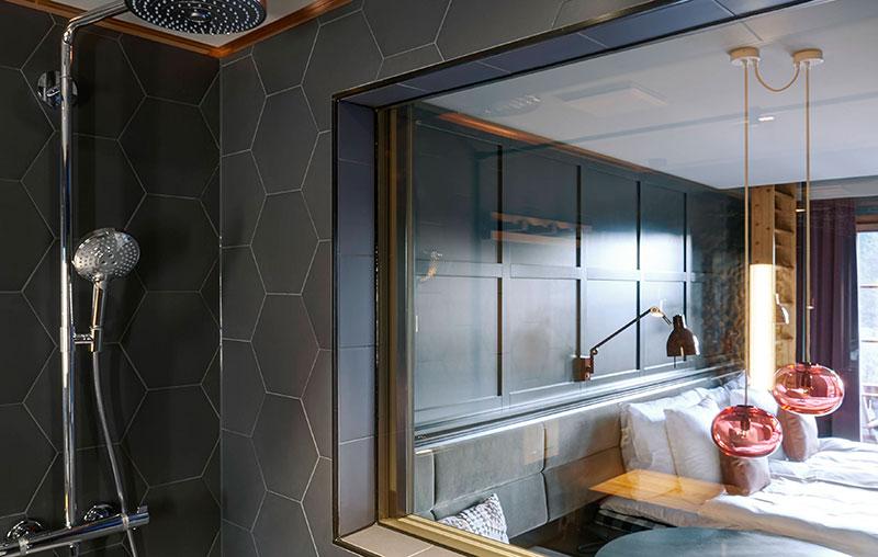 Альпийские красоты и скандинавский стиль: замечательный HUUS hotel в Швейцарии