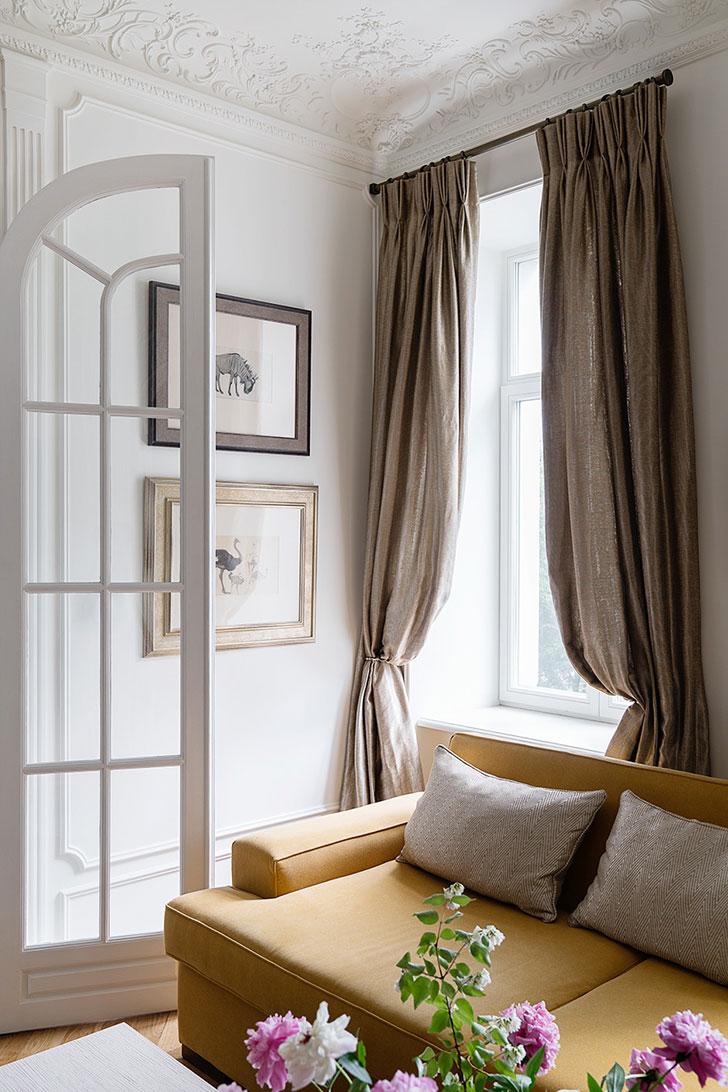 Подлинная атмосфера Парижа в московской квартире декоратора