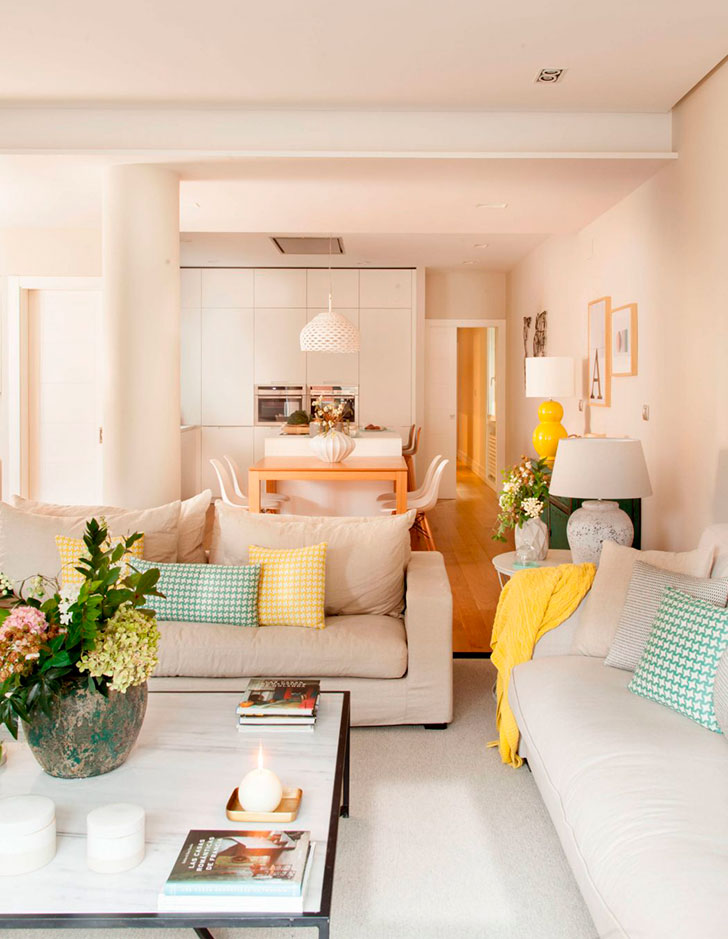 Нежный и вдохновляющий интерьер квартиры в Испании