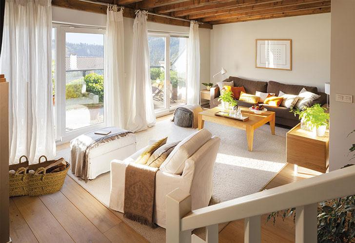 Дом с солнечным интерьером в солнечной стране Басков