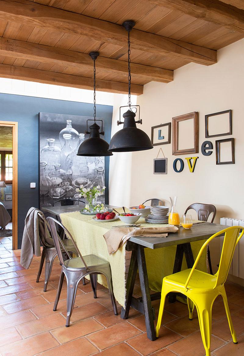 Оформление стен в обеденной зоне: 15 примеров