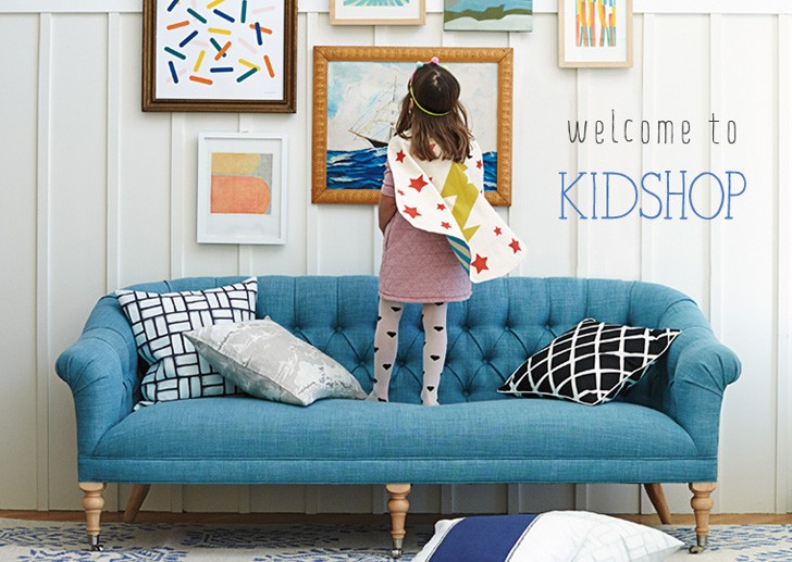 Оформление от Serena & Lily - помогут детям привить чувство стиля!