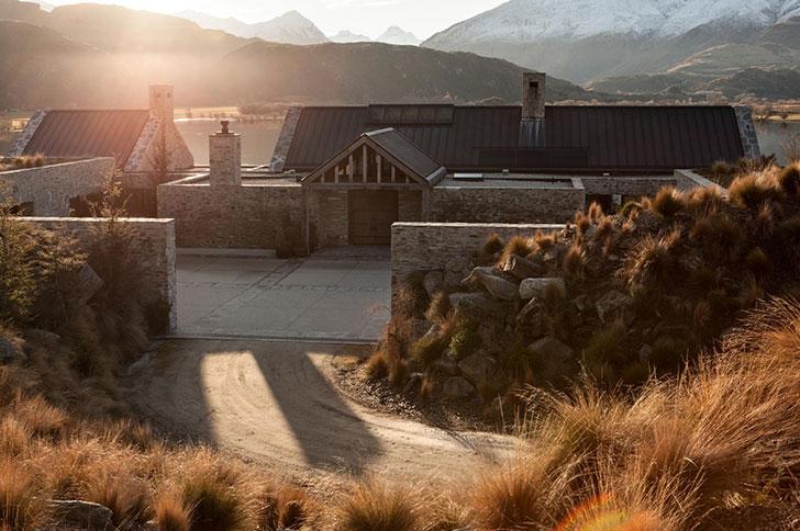 Вилла в невероятном месте в Новой Зеландии