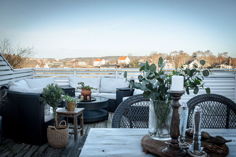 Дача по скандинавски - коттедж за городом в Швеции.