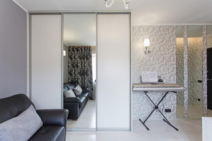 Зеркала в интерьере для расширения пространства