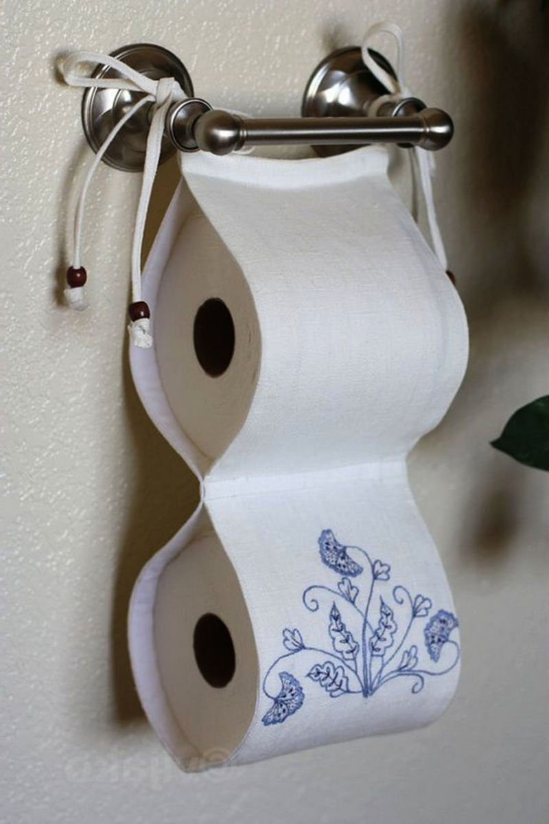 Хранение в туалете: Как организовать? Фото, Идеи.