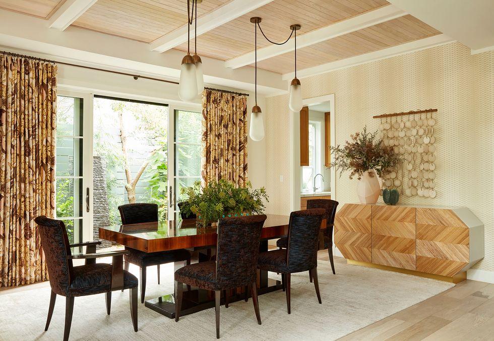 Богемный интерьер в стиле Арт-Декор в доме в Санта-Монике